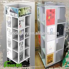 Portable T Shirt Display Stand Rotating Tshirt TowerPortable Tshirt Floor Display Stand 12