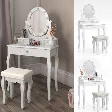 Makeup Bedroom Vanity Dressing Table Stool Makeup Table Storage Mirror Bedroom Vanity