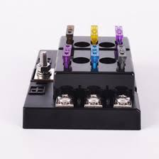 discount dc fuse box 2017 dc fuse box on at dhgate com discount dc fuse box iztoss dc 32v 6 way circuit car truck automotive atc blade fuse