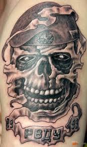 армейские татуировки по родам войск и их значение