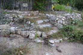 No it;s not a pile of rocks. It's a dry California garden with