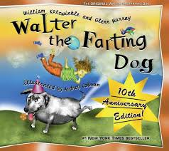 walter is a good dog except for one small stinky problem this hilarious picture book with lively ilrations will have kids and s giggling as