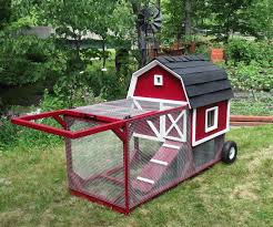 Mobile Chicken Coop Designs The Little Red Barn Chicken Tractor By Bkeee Backyard