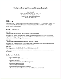 Manager Resume Objective Examples Resume Peppapp