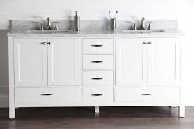 white bathroom vanities with drawers. Abigail 72\ White Bathroom Vanities With Drawers