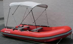 4 bow sun shade canopy bimini tops for inflatable boats