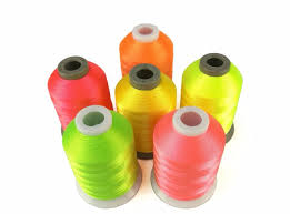 Us 12 41 8 Off Simthread 6 Popular Neon Colors Machine Embroidery Thread For Disney Design And Pretty Embroidery Works In Thread From Home Garden