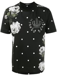 dolce gabbana rose print t shirt men clothing dolce and gabbana gles d g dresses outlet