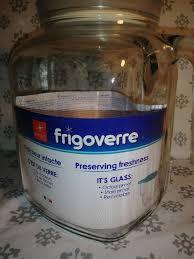 new frigoverre glass 1 2 gallon jug
