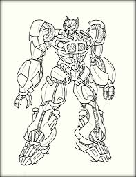 Small Picture Optimus Prime Transformers Coloring Pages Color Zini