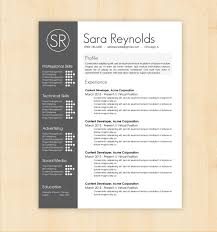 Creative Word Resume Templates Resume Design Templates Cv Resume Template Word Resume Design Resume