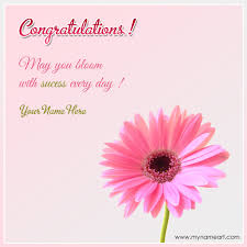 Congrats On Your Promotion Congratulations On Success With Quotes And Name
