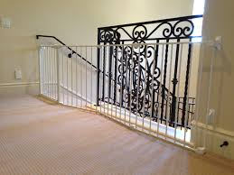 Gate For Stairs Custom Large And Wide Child Safety Gates Baby Safe Homes