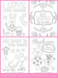 🖍 over 6000 great free printable color pages. Mother Day Coloring Pages Free Printables Happiness Homemade Mothers For Kids Printable Cards S Happy To Colour Sheets Preschoolers Pictures Print Oguchionyewu