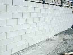 block wall repairs fill concrete block wall grey retaining repairing foundation walls repair bowing