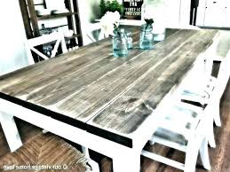 full size of distressed dining table diy awesome best reclaimed wood room round kitchen karlin with