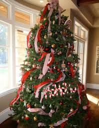 View in gallery Cheerful Christmas tree with delicious white and red  ornaments View in gallery ...