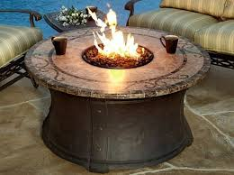round gas fire pit table. Image Of: Outdoor Gas Fire Pit Table Round