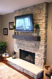 stack stone fireplace stone fireplace with mounted photo 6 of fireplace stacked stone ideas 6 stack stack stone fireplace
