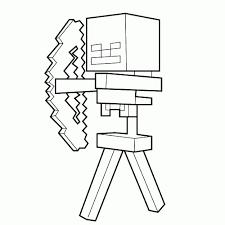 15 Geweldig Kleurplaten Van Minecraft Double Frisson