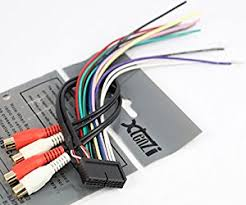 com xtenzi radio wire harness for jensen pin cd xtenzi radio wire harness for jensen 20pin cd6112 cd3610 mp5610 cd335x cd450k vm8012 vm8013