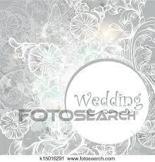 かわいい 結婚式 背景 中に 青 色 クリップアート