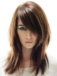 Layered Haircut For Medium Length Hair With Bangs Medium Length
