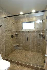 walk in tile shower tiled designs no door showers without doors cost