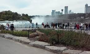 visitors view niagara falls on wednesday afternoon local tourism officials say the niagara usa official visitors center isted a record high number of