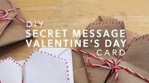 diy secret message valentine s day card origami you