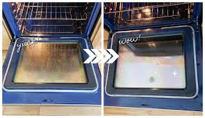 fastest way to clean your oven glass