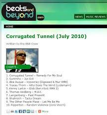 Corrugated Tunnels July Chart Now On Beats And Beyond