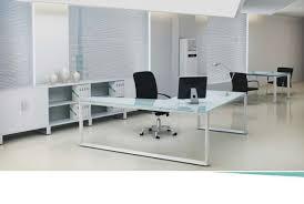 executive glass office desk. Creative Of Modern Glass Executive Desk Sweet Top Office Steel Home M