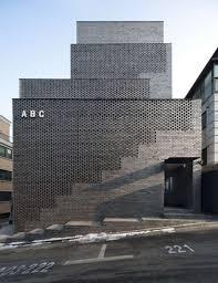 View in gallery Grey Contemporary Brick Building