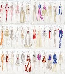 эскизы нарядов от Yves Saint Laurent ярмарка мастеров