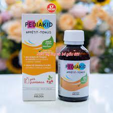 Review siro pediakid cho bé ăn ngon,hỗ trợ hệ tiêu hóa khỏe mạnh appetit  tonus cho bé từ 6m+ 125ml