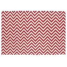 pink chevron rug  the land of nod