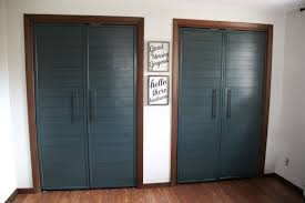French closet doors Diy Closets With French Doors Bright Green Door Bifold To Faux Shiplap French Closet Doors Bright Green Door