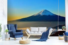 3d mt fuji scenery 785 wallpaper wallpaper wallpaper mural paper wall print murals uk lemon 222318