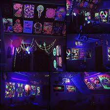 uv black light escolite 395nm ultraviolet 20w led flood light outdoor for blacklight run