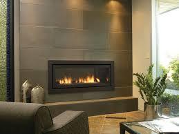 modern gas fireplace insert