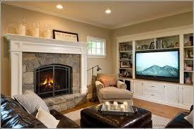 Modern Living Room With Fireplace Linear Elegance Modern Living