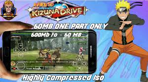60mb naruto shippuden kizuna drive highly pressed game for android