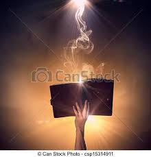 hand with book csp15314911