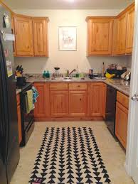 Kitchen Carpet Flooring Kitchen Awesome Kitchen Floor Rugs Washable With Regtangle Brown