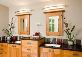 eclectic lighting fixtures. Vanity Light Fixtures Bathroom Eclectic With Lighting Container Plants. Image By: Christian Gladu Design