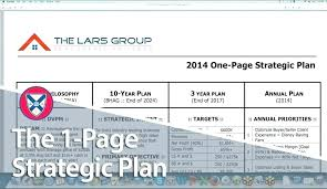 One Pager Project Template One Page Project Plan Template