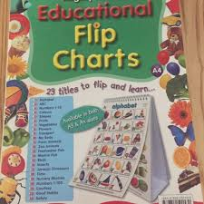 Mighty Minds Educational Flip Chart Books Stationery
