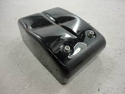 pinwall cycle parts, inc your one stop, motorcycle shop for used dyna fuse box cover 2009 harley davidson fxd dyna super glide fuse box cover dented, scratches as shown