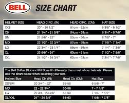 Motorcycle Helmet Size Chart Bell Disrespect1st Com